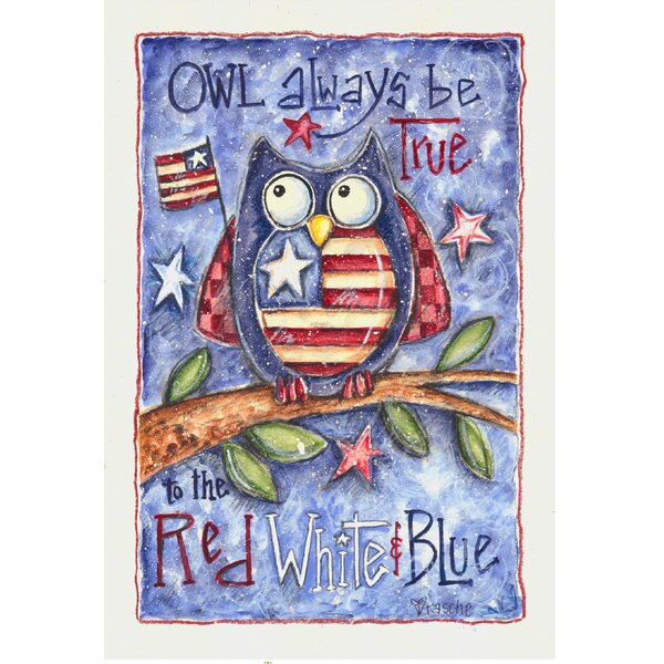 Owl Always Be Garden Flag by The Cranford Group