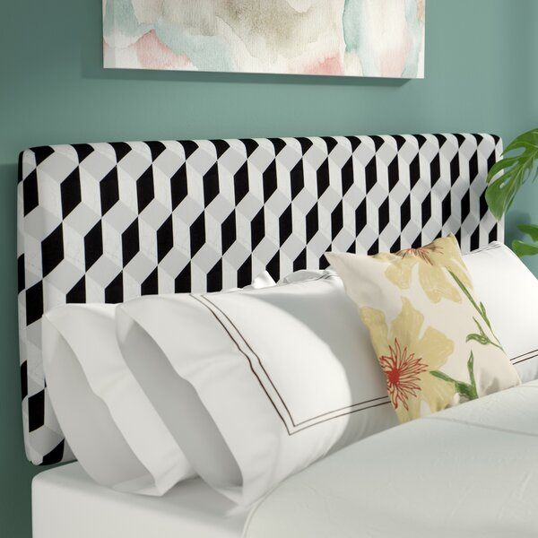 Pascoe Upholstered Panel Headboard by Latitude Run