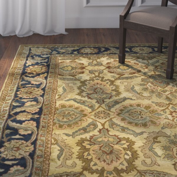 Dockett Hand Tufted Green/Blue/Beige Indoor Area Rug by Astoria Grand