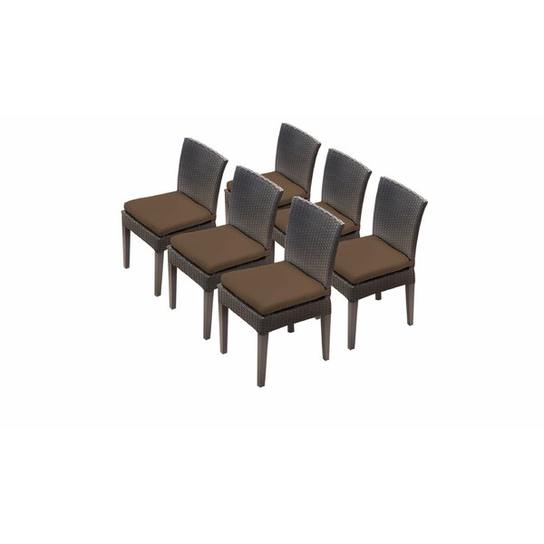 Fernando Patio Dining Chair with Cushion (Set of 6) by Sol 72 Outdoor Sol 72 Outdoor