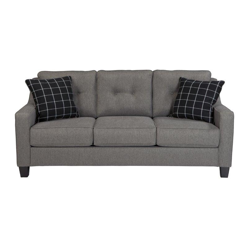 Charlton Home Adel Queen Sleeper Sofa Reviews Wayfair