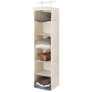 Savings 6-Compartment Hanging Organizer (Set of 4) By Whitmor, Inc