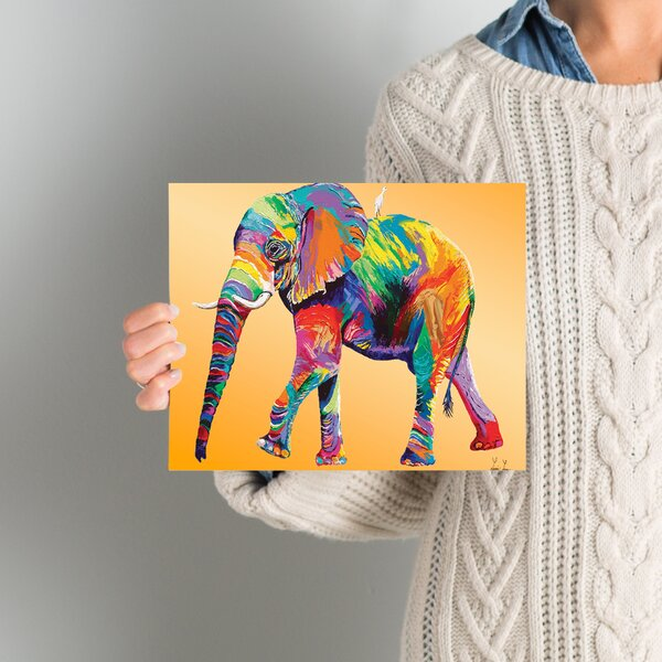 World Menagerie 'the Ride' Graphic Art Print On Canvas In Yellow & Reviews by World Menagerie
