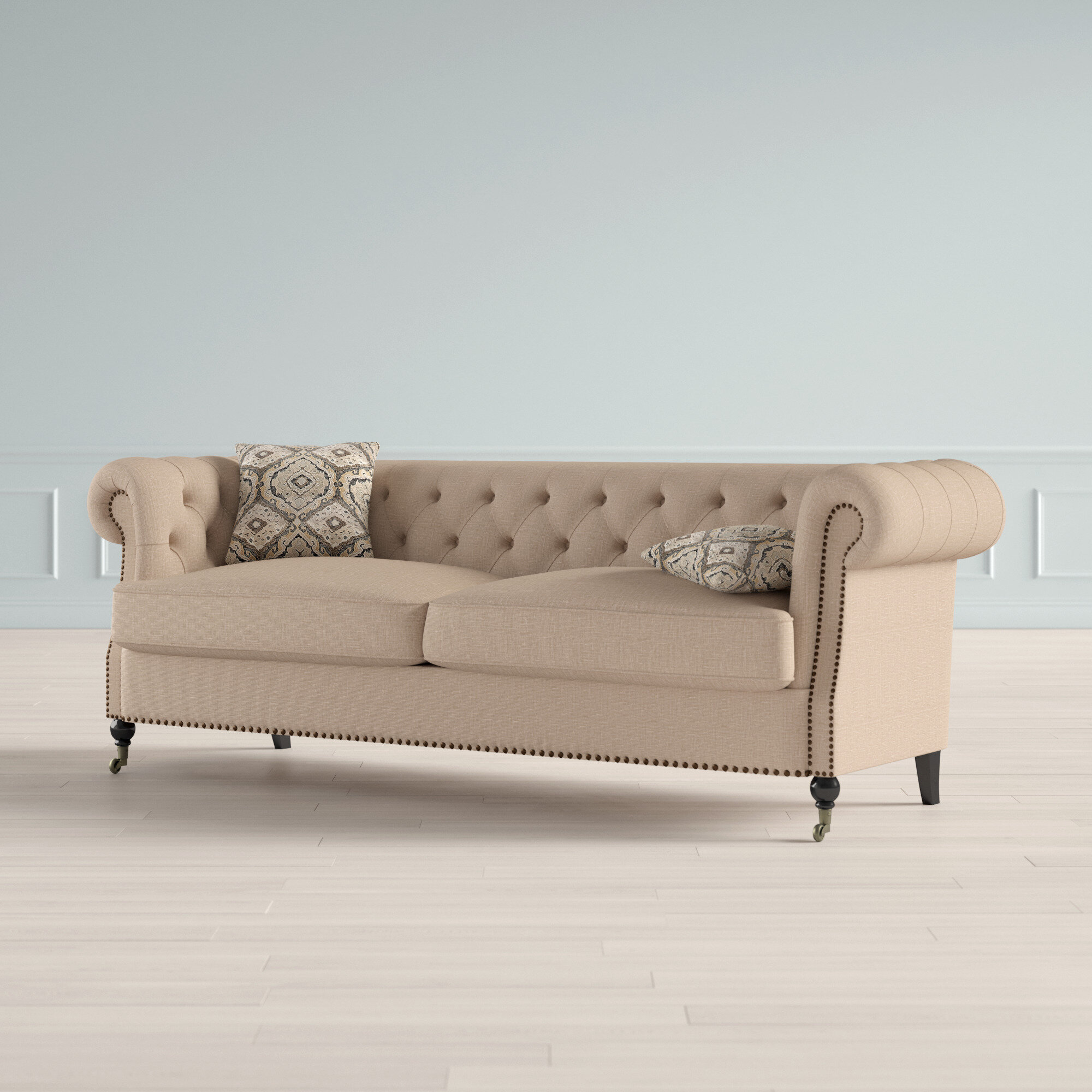 Excellent Calila Chesterfield Sofa Inzonedesignstudio Interior Chair Design Inzonedesignstudiocom