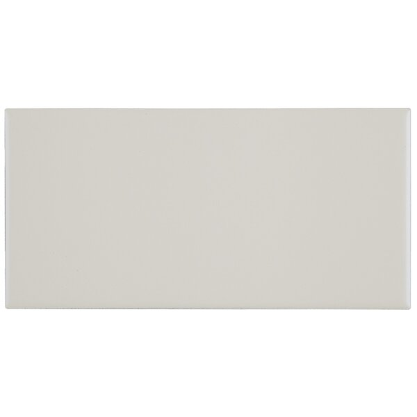 Berkeley 4 x 8 Ceramic Subway Tile in Matte Biscuit by Itona Tile
