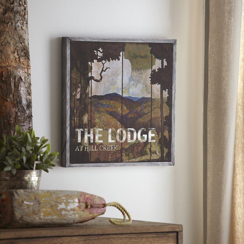 Birch Lane™ Lodge Wood Wall Art & Reviews   Wayfair
