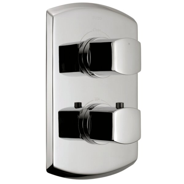 Soiree Valve Trim with Dual Volume Control by Toto