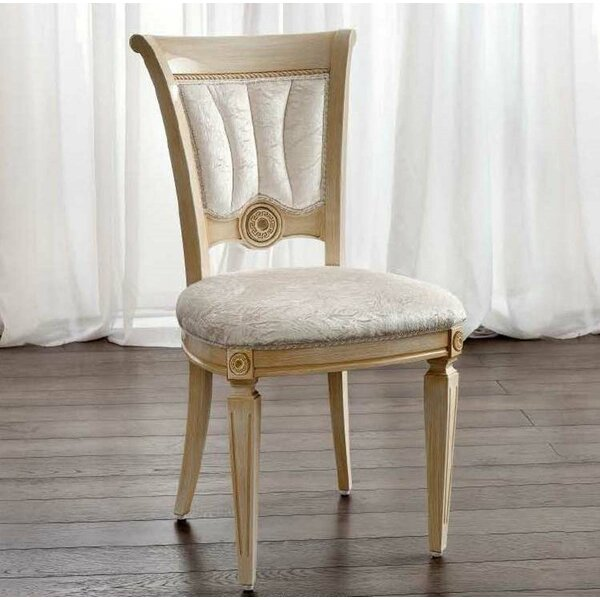 Gary Upholstered Side Chair in Ivory (Set of 4)