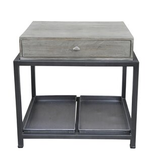 Morrissey-Bickerton End Table by Gracie Oaks