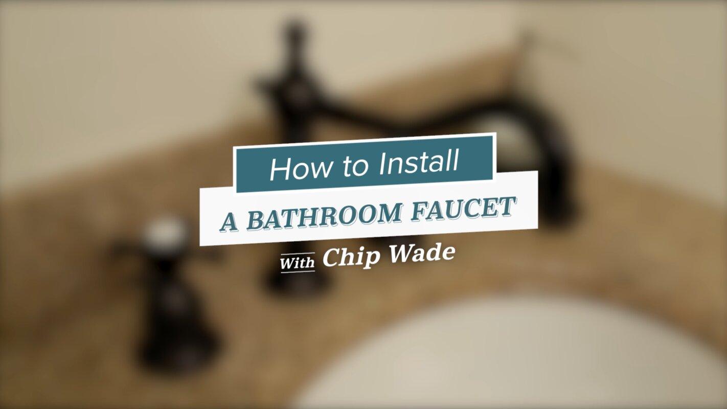 Bathroom Sink/Tub Faucet