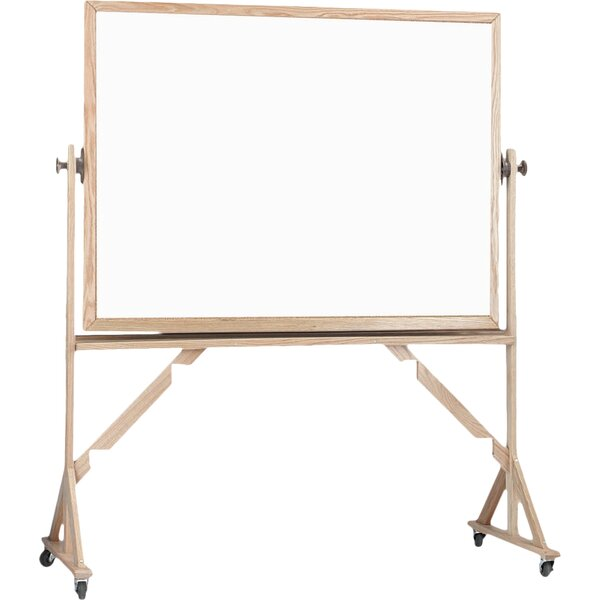 Reversible Free Standing Whiteboard by AARCO