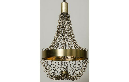 Perestroika 8-Light Empire Chandelier by Noir