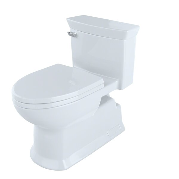 Soirée 1.28 GPF (Water Efficient) Elongated One-Piece Toilet (Seat Included) by Toto