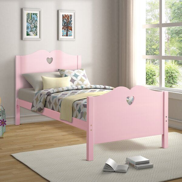 Fierce Twin Sleigh Bed by Ebern Designs