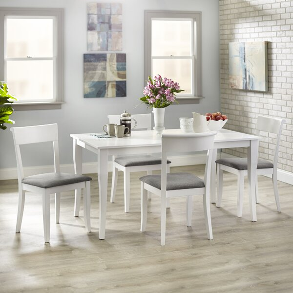 Alfred 5 Piece Dining Set by August Grove