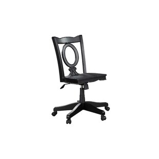 Stroupe Keyhole Mid-Back Bankers Chair by Darby Home Co Office Furniture