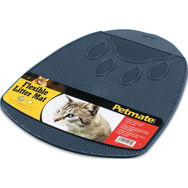 Flexible Rubberized Litter Mat by Petmate