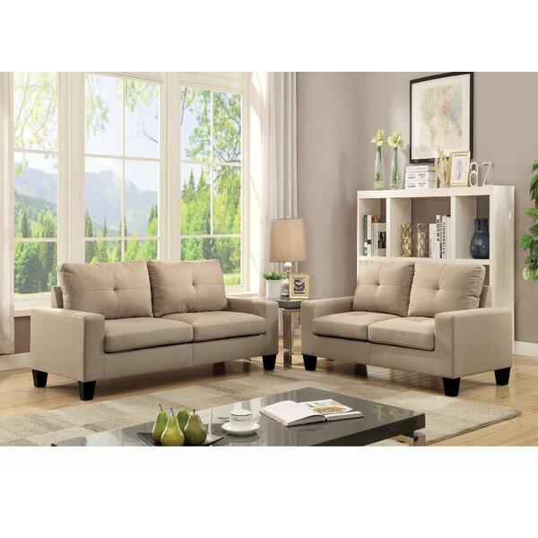 Alacam 2 Piece Living Room Set by Latitude Run