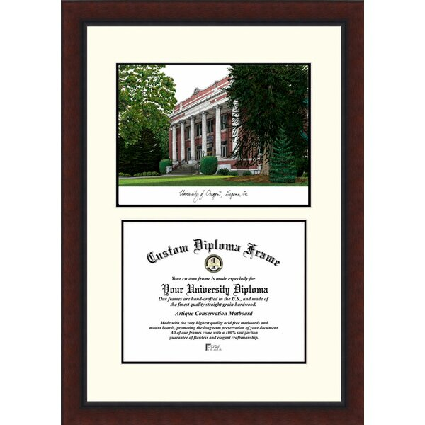 NCAA University of Oregon Legacy Scholar Diploma Picture Frame by Campus Images