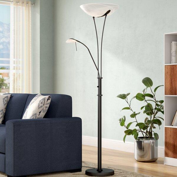 Dorsey 70.5 Torchiere Floor Lamp by Latitude Run