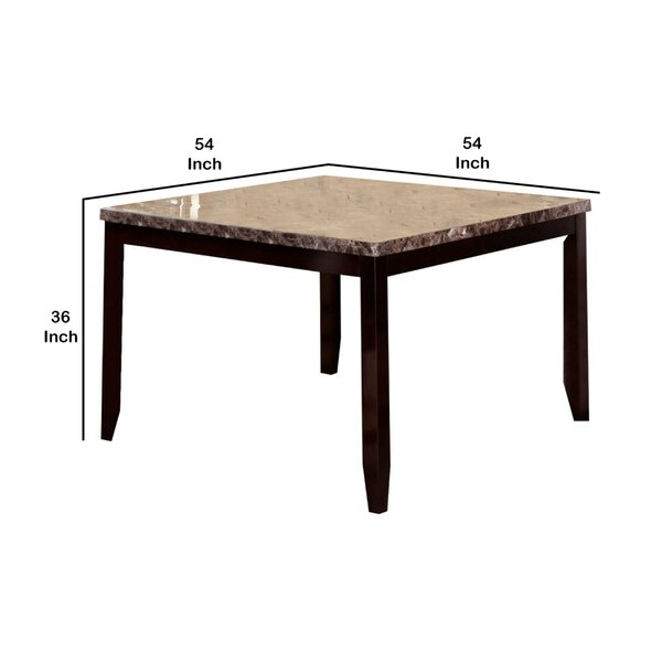 Red Barrel Studio® Channer Counter Height Dining Table | Wayfair