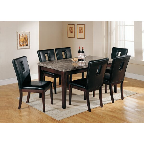 Taliaferro 7 Piece Dining Table Set By Latitude Run