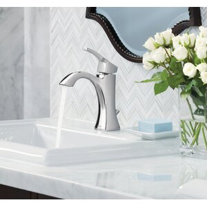 Voss Single Hole Bathroom Faucet with Drain Assembly