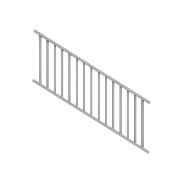 4 in. H x 8.5 ft. W Stair Railing by Xpanse Select Vinyl Railing