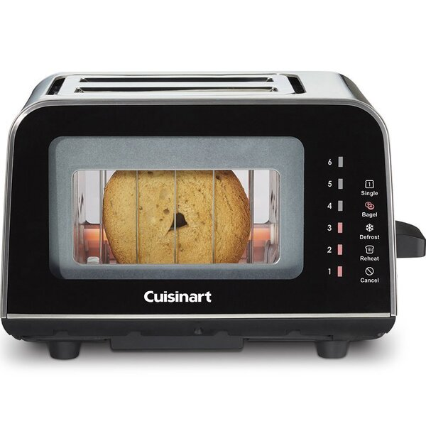 ViewPro 2 Slice Glass Toaster by Cuisinart