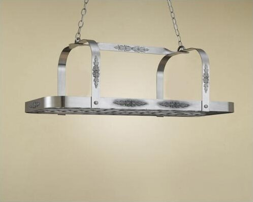 Monterey Rectangular Hanging Pot Rack by Hi-Lite