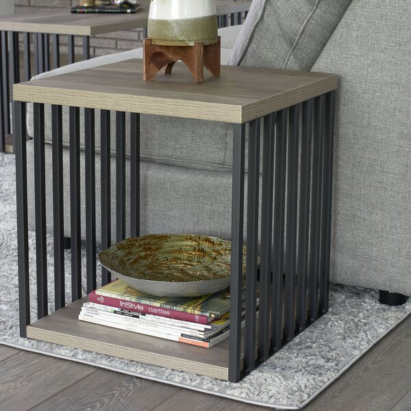 Dulin End Table With Storage By Wrought Studio