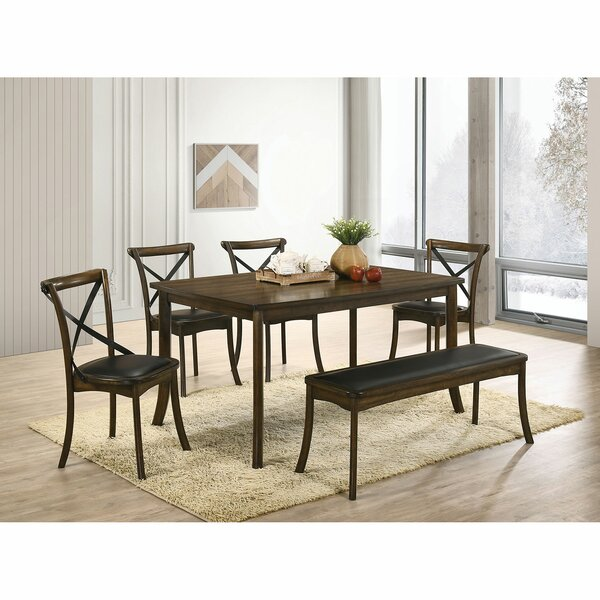 Torrence Placer 6 Piece Dining Set by Gracie Oaks Gracie Oaks