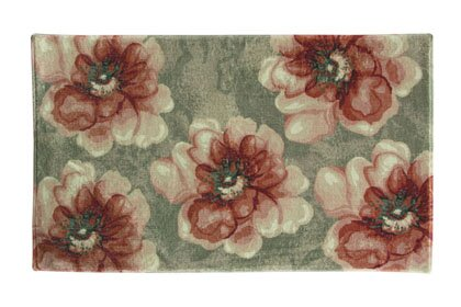 Vennie Floral Red/Green Area Rug by Ophelia & Co.