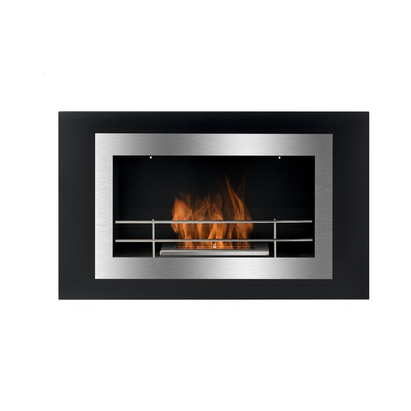 Wall Mounted Ethanol Fireplace By BioFlame