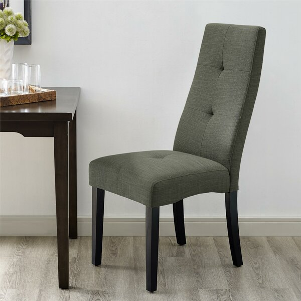 Review Sessoms Upholstered Dining Chair
