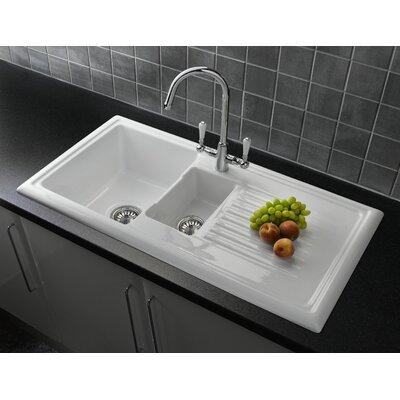 Ceramic Kitchen Sinks You Ll Love Wayfair Co Uk