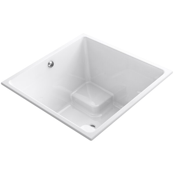 Underscore Vibracoustic 48 x 48 Soaking Bathtub by Kohler