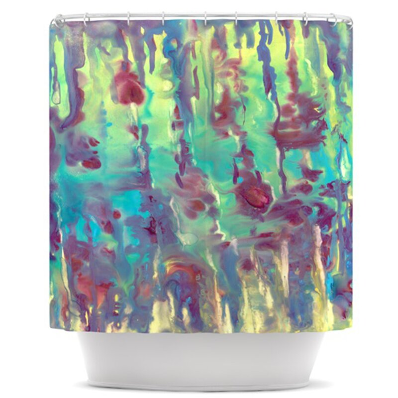KESS InHouse Splash Shower Curtain | Wayfair