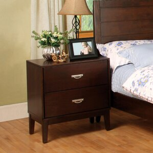 Bentonville 2 Drawer Nightstand by Red Barrel Studio
