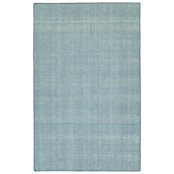 Buell Hand Woven Denim Indoor/Outdoor Area Rug by Ivy Bronx