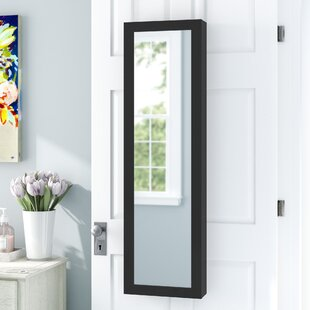Wall Mounted Jewelry Armoire with Mirror By Rebrilliant