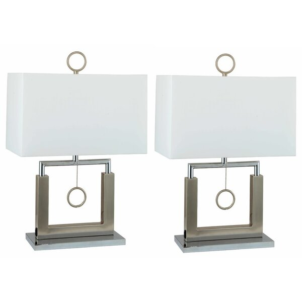 Pendulum 23 Table Lamp (Set of 2) by Orren Ellis