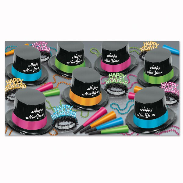 Neon Legacy Party Hat Set by The Holiday Aisle