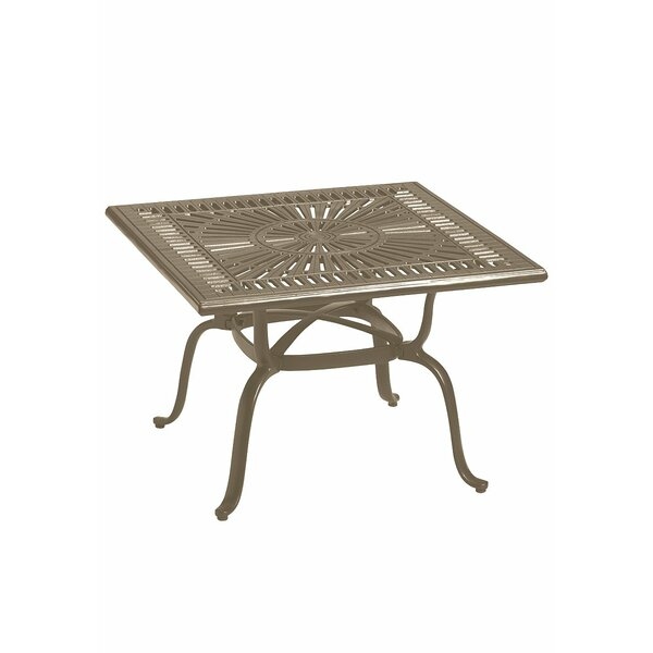 Banchetto Cast Aluminum Bistro Table by Tropitone