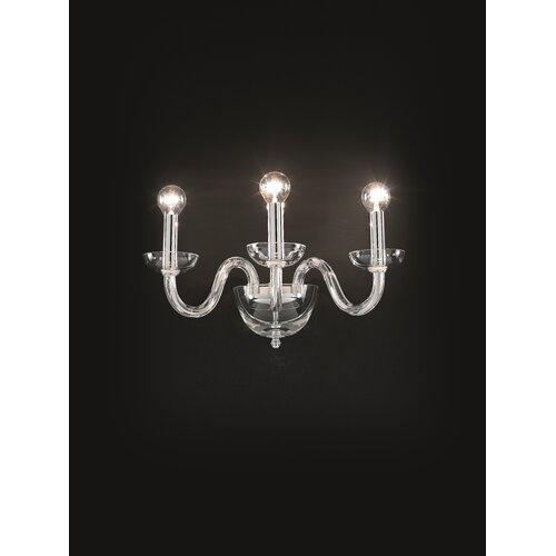 Ravenna 3-Light Candle Wall Light Clifton Lighting