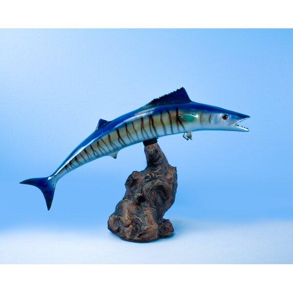 Pardue King Fish Figurine by Loon Peak