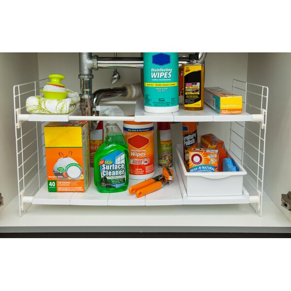 Under-Sink Shelving Rack by IRIS USA, Inc.