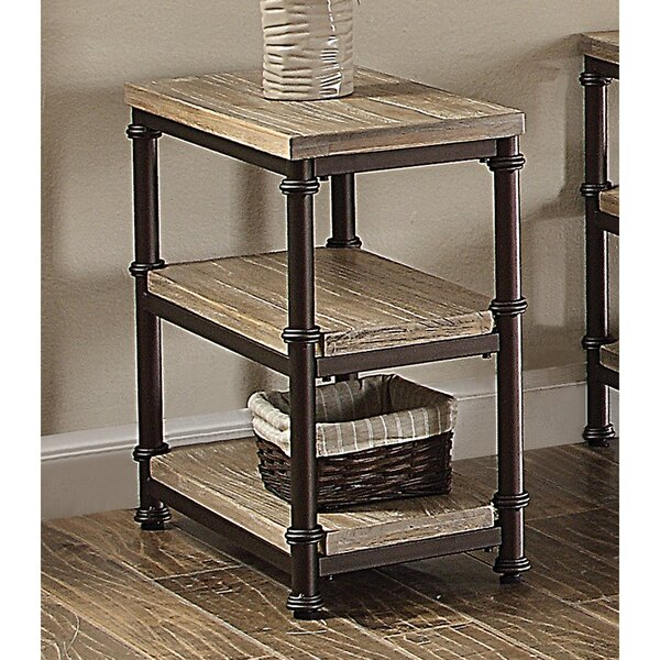 Corunna End Table by Gracie Oaks