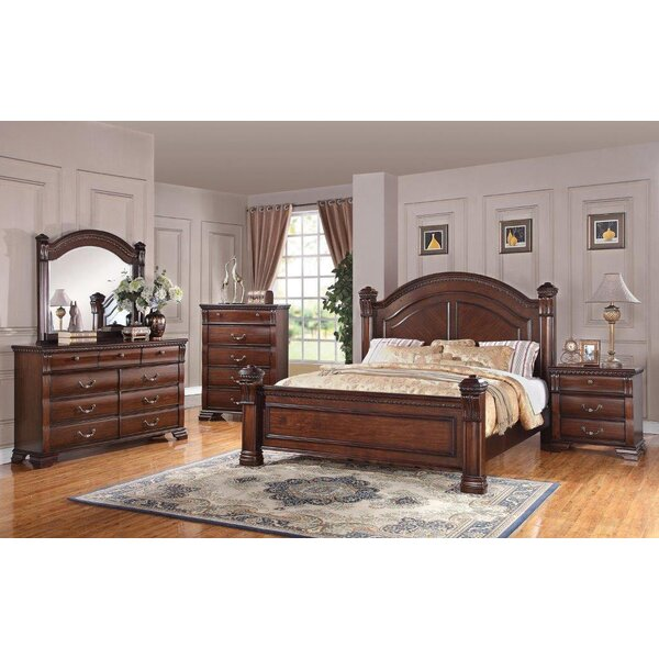 Montana Storage Panel Configurable Bedroom Set by Charlton Home