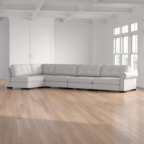 Willia Left Hand Facing Modular Sectional By Three Posts